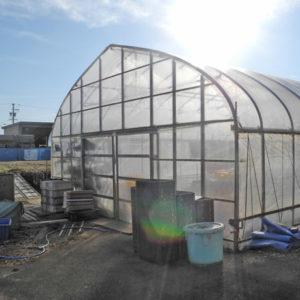 農業用ビニールハウス
